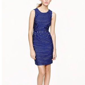 J. Crew Sparkle Dot Dress